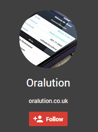 Oralutions G+ Page